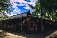 四川阆中古城街景图片