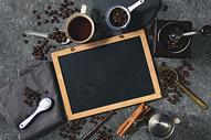 咖啡静物摆放图片