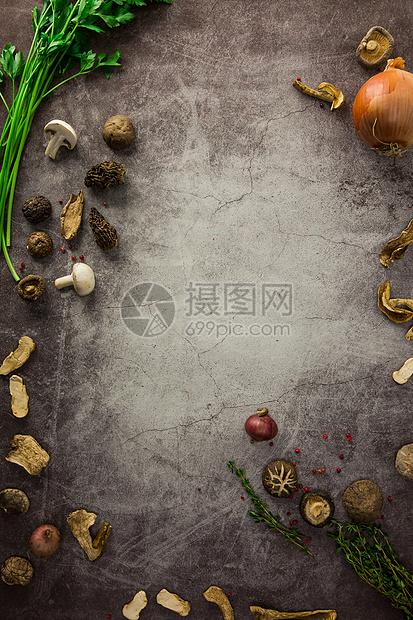 菌菇食材图图片
