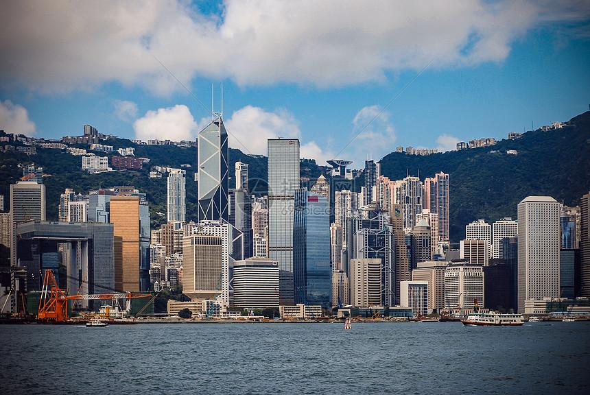 香港维多利亚港湾图片
