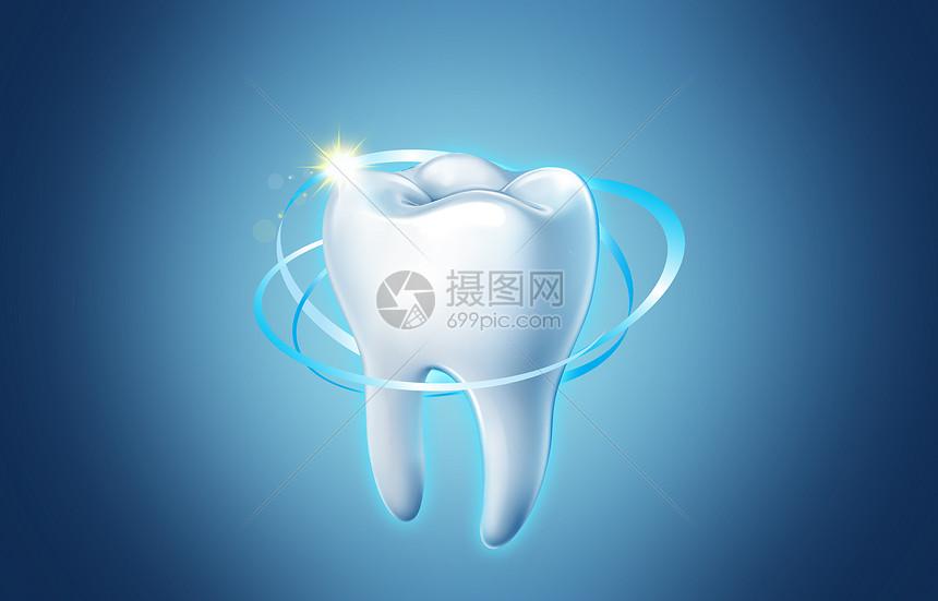 全面护理牙齿图片