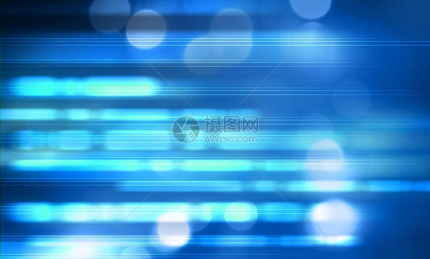 蓝色光斑背景图片
