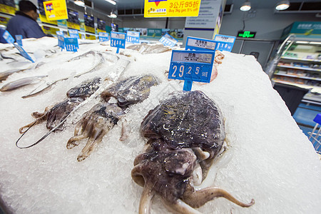 超市里的海鲜图片