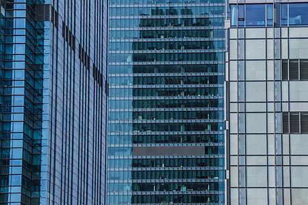 上海商务写字楼特写图片