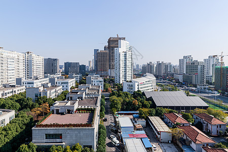 上海城市楼房图片