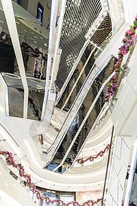 时尚商场电梯图片