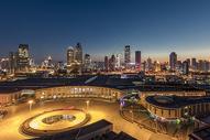 天津夜景图片