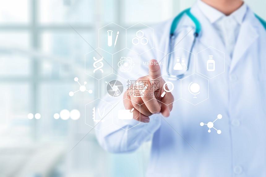 医疗技术网络概念图片