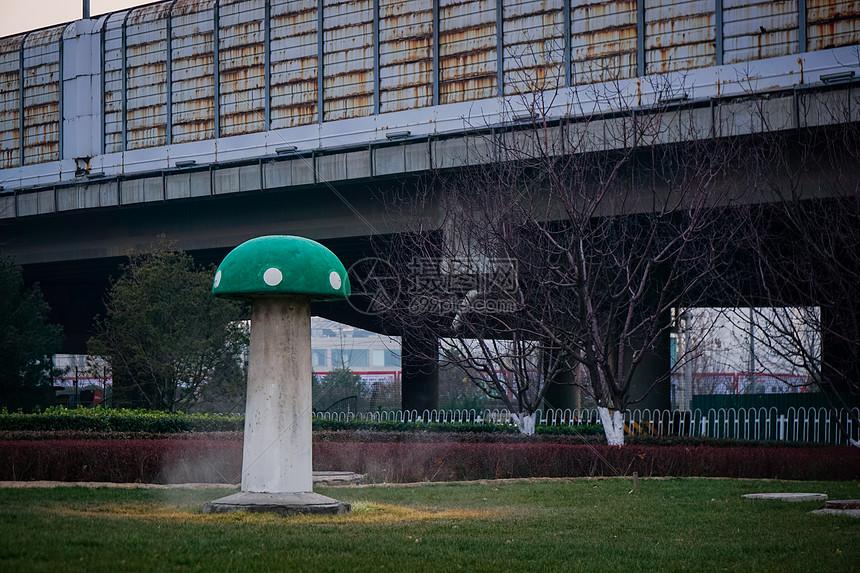 冬日北京街边一瞥图片