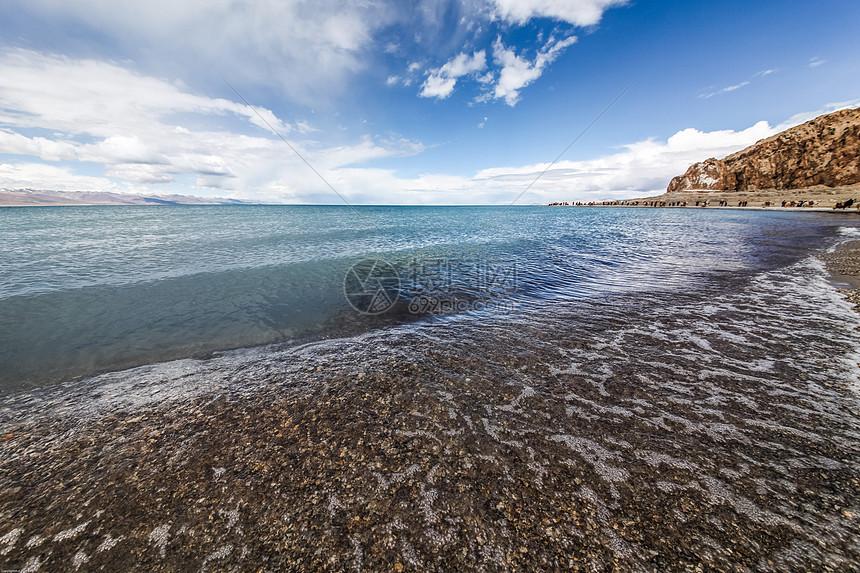 西藏圣湖纳木错图片