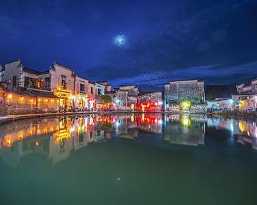 宏村夜色图片