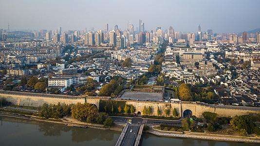 南京中华门全景图片