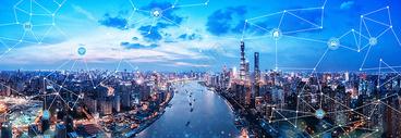 城市科技背景500758574图片