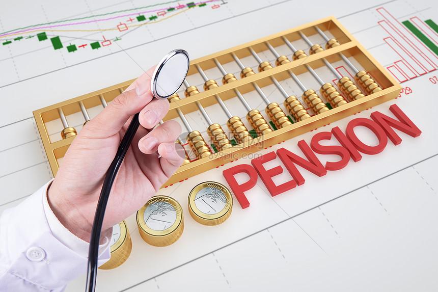 财务健康检查概念图片