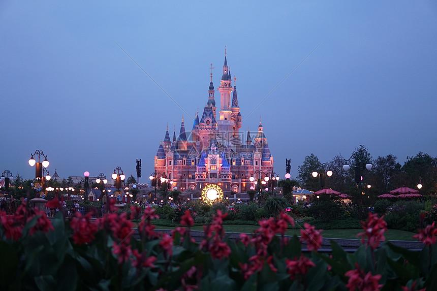 上海迪士尼乐园图片