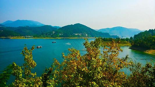 陕西安康旅游风光高清图片