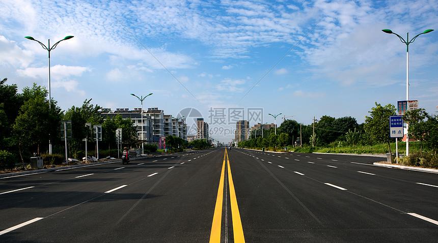 城市公路图片
