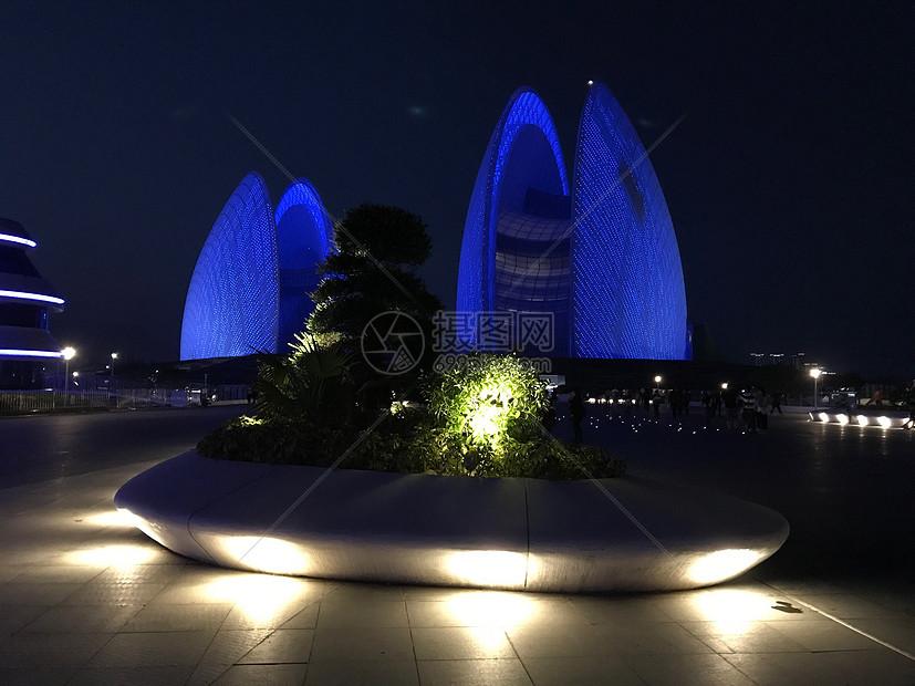 珠海贝壳歌剧院图片
