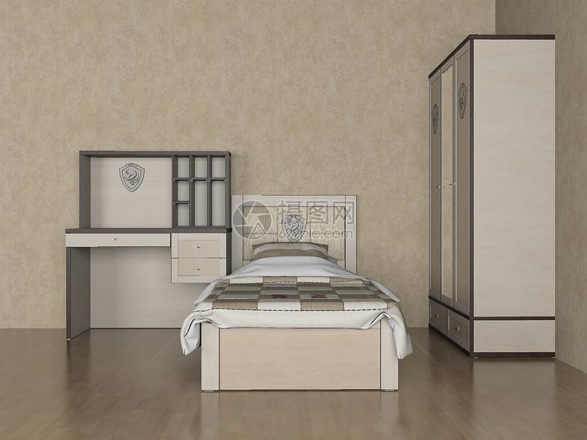 儿童房卧室效果图图片