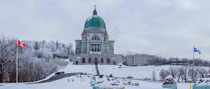 加拿大蒙特利尔的冬天图片