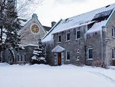 国外雪后的别墅图片
