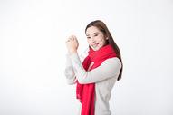 新年女性棚拍500759281图片