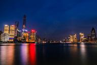 上海陆家嘴夜景图片
