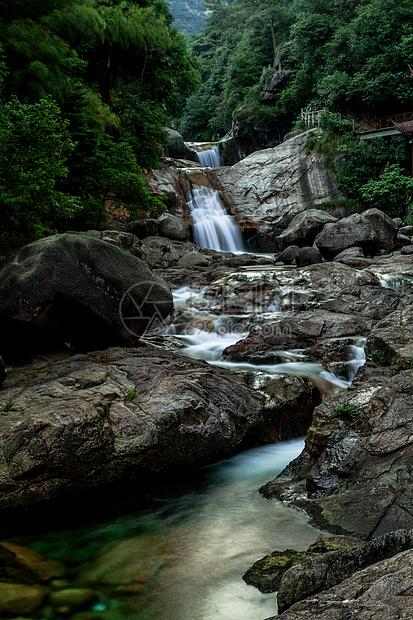 黄山九龙瀑景区图片