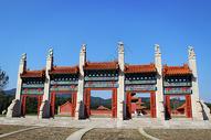 清东陵康熙景陵的牌楼门图片