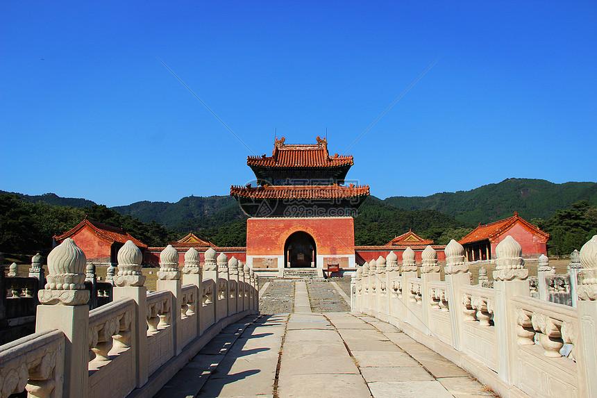 北京清东陵图片