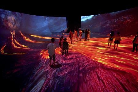 3D穹幕电影院体验图片