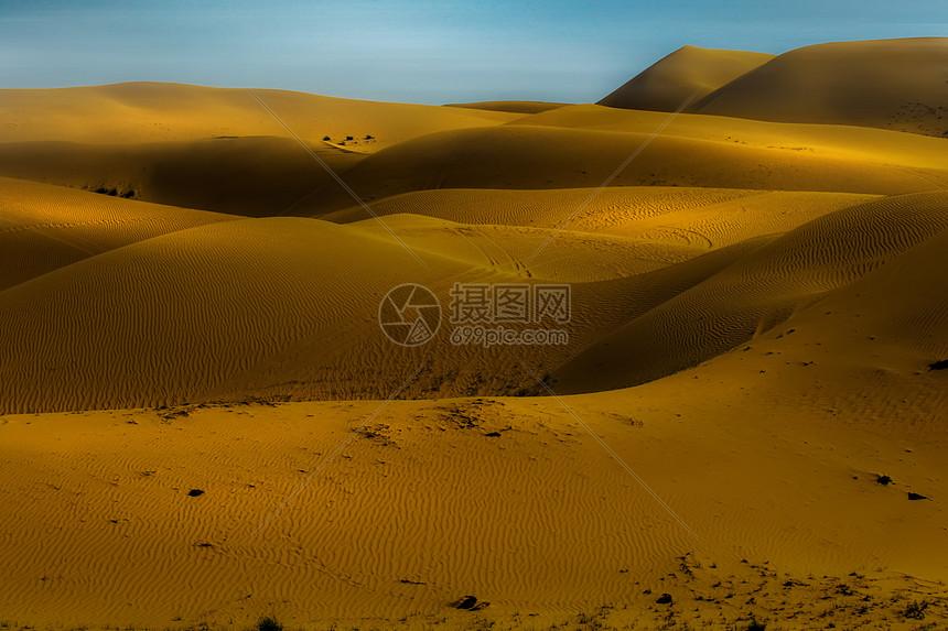 晚霞金沙湾风光摄影图片