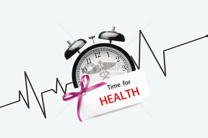 健康医疗创意场景背景图片