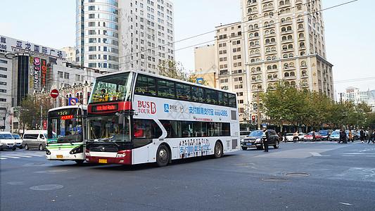 上海旅游观光车图片
