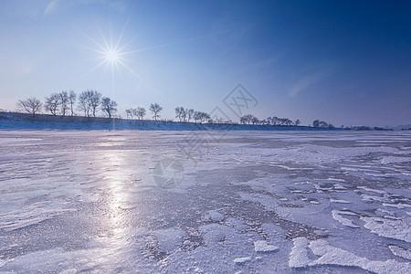 冰河雪地风光系列图片