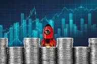 金融数据增长图片