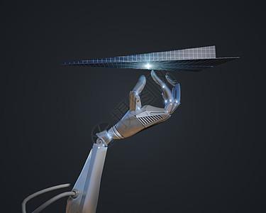 科技机器手图片