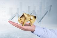 创意牛市股票投资图片