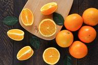 新鲜水果橙子图片
