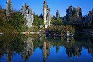 石林阿诗玛雕像图片