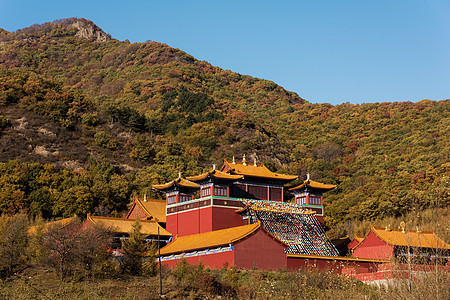 赤峰美林谷康宁寺图片