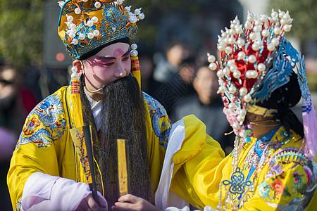 中国元素戏曲人物图片