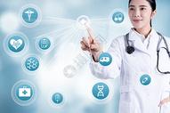 医疗虚拟视觉屏幕图片