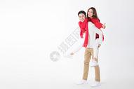 甜蜜情侣过新年500763568图片