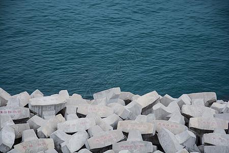幼儿园区域海洋石头画