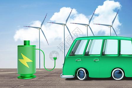 新能源环保汽车图片