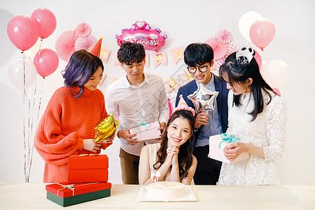 青年生日聚会party图片