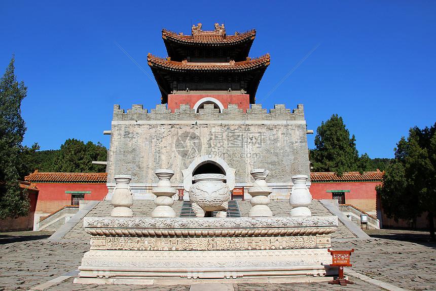 河北保定易县清西陵石五供图片