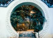 江南庭院图片