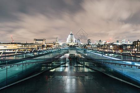 英国伦敦千禧桥图片